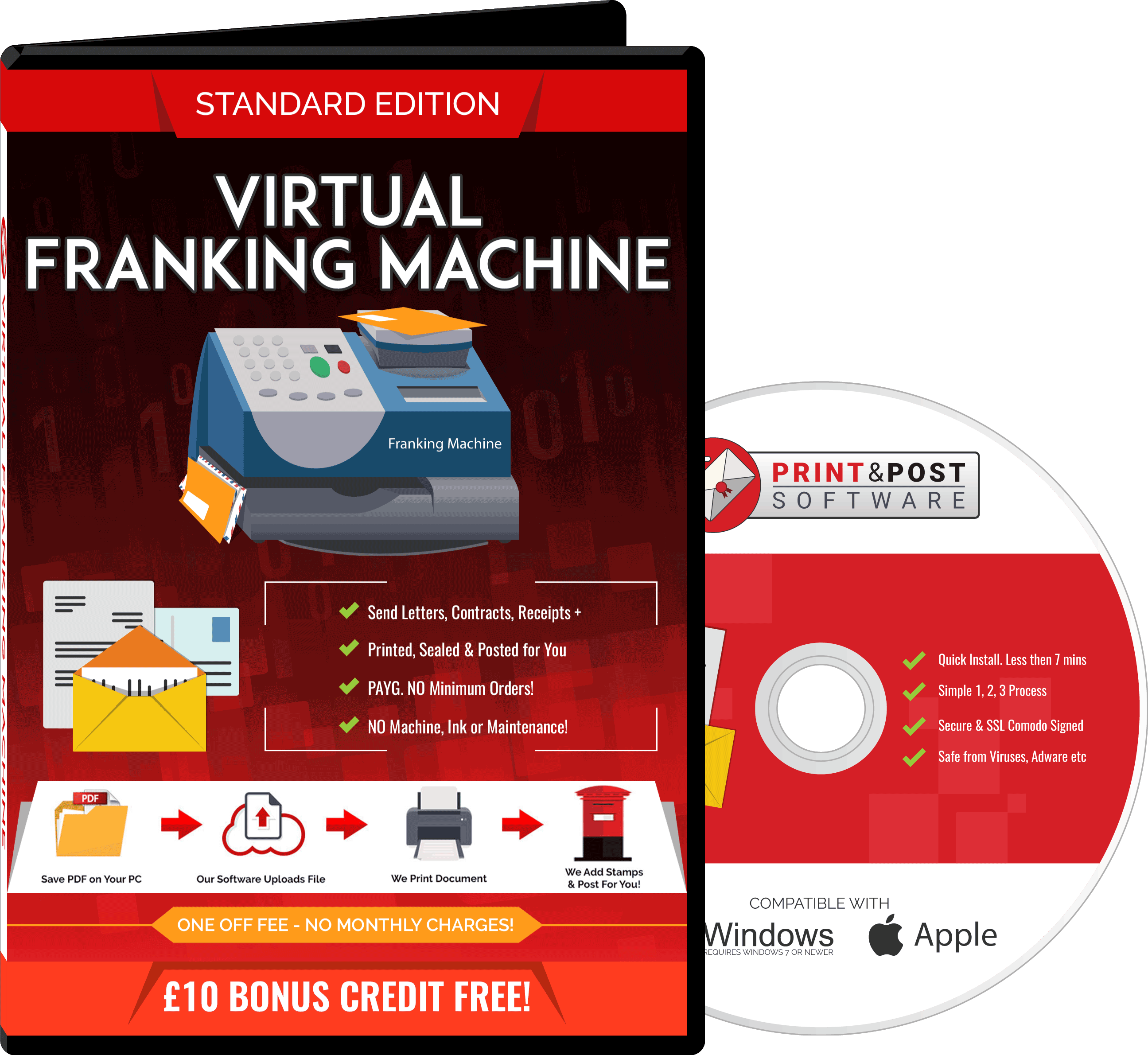 Image of the virtual Franking machine package